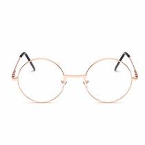 Armação D Óculos D Grau Metal Redondo Harry Poter Unissex Bh