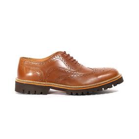 Trender Zapato Casual Tipo Bostoniano Color Miel 8740010