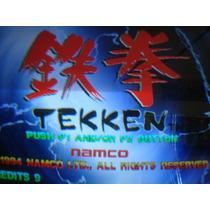 Video Juegos Tekken Uno Namco Arcade Neo Geo