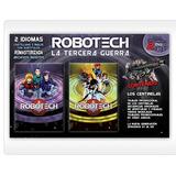 Robotech: La Tercera Guerra 6 Dvd Ineditos Con Afiches