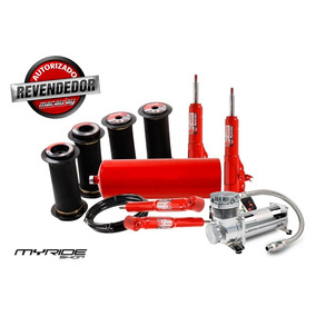 Kit Suspensão Ar 1/2mm Fiat 147 Com Compressor Myrideshop