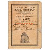 Libreta Caja De Ahorros Banco Boston Rosario Santa Fe 1943