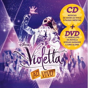 Kit Dvd + Cd Violetta - Ao Vivo (2013) * Lacrado * Original