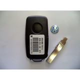Llave Vw Completa Bateria 434mhz, Id48 Chip 5k0 837 202h