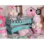 Kit Imprimible Primer Añito Pajaritos Rosa Candy Bar