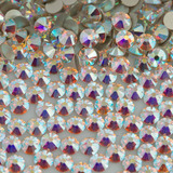 Strass Flatback 5mm Cristal Aurora Boreal Swarovski 100 Unid