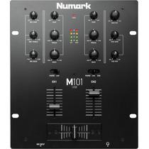 Mixer Dj Numark M101 Usb 3 Canales Consola Sonido Mezcladora