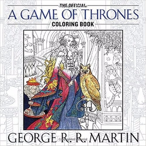 The Official A Game Of Thrones Coloring Book (a Song *sk