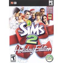 Game Pc Lacrado Importado The Sims 2 Holiday Edition