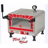 Forno A Gás Progás Style Mini Chef C/infravermelho 42litros