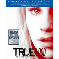 Blu-ray True Blood Season 5 / Temporada 5 / Bluray + Dvd