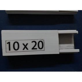 Canaleta Pvc Blanca 10x20mm X 2m