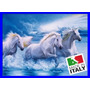 Quebra Cabeça 1000 Pcs Cavalos Garanhões Brancos