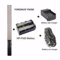 Barra Led Video Yongnuo Yn 360 Yn360 Con Batería Y Cargador