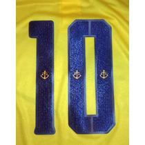 Estampado Numero Boca Juniors Verano 2014 2015