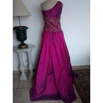 Le Tissu Vestido De Fiesta .. Divino ( Talle Large)