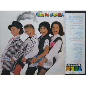 Trem Da Alegria - Lp He-man - Rca 1986 C/encarte