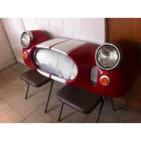 Frente Shelby Cobra Decorativo Para Pared Con Luz Led
