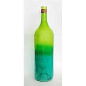 florero botella vidrio vaca grande jarrn decoracin adorno