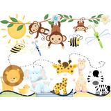 Kit Imprimible Animales Selva Mini Oferta 2x1 Tarjeta Fiesta