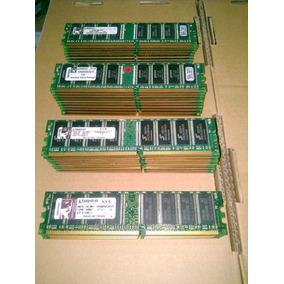 Rematamos Memorias Kingston Ddr1 De 1gb Pc 3200 De 400 Mhz