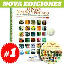 Uñas Diseño Y Pintado 1 Vol + 1 Dvd. Nuevo Y Original.