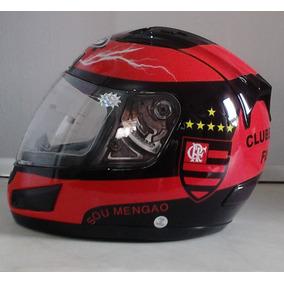 Capacete Flamengo Df2 Helmet 2014 Com Selo Do Inmetro