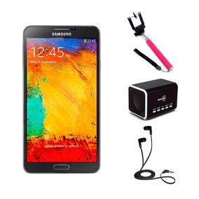 Samsung Galaxy Note 3 32gb Selfie Stick Audífonos Bocina