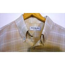 Camisa Yves Saint Laurent M.cortas-talle L-100%original