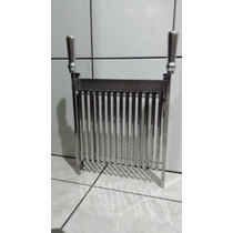 Grelha Argentina Em Aço Inox 33x40