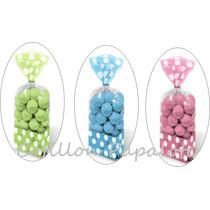 18 Bolsas Lunar 10x15 Baby Shower Bebe Año Candy Bar Dulces