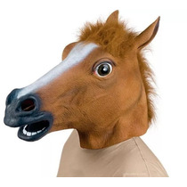 Cabeça De Cavalo Mascara Cosplay Latex Fantasia Harlem Shake