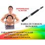 Eficaz Barra Torsion Ejercicio Fitness Musculo Mayor Detal