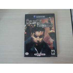 Death To Rights Game Cube Original. Ótimo Jogo De Ação!
