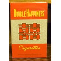 Cigarrillos Chino S Double Happines Box De 20 Lleno