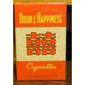 Cigarrillos Chino S Double Happines Box De 20 Lleno