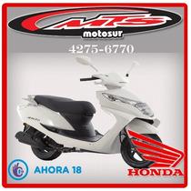 Honda Elite 125 Nueva 2017 0km Blanca Roja Negra Moto Sur