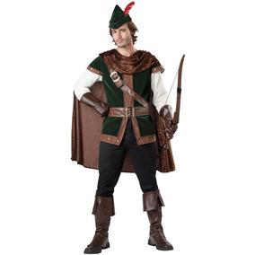 Disfraz Robin Hood Del Bosque Incharacter P/adulto Talla Xl