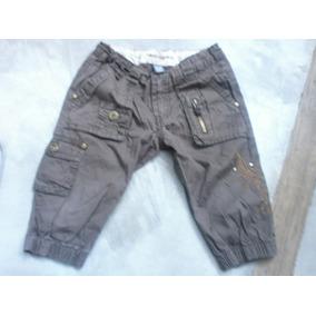 Vermuda Jeans Chupin Zara Chocolate Talle 4/5 Canchero