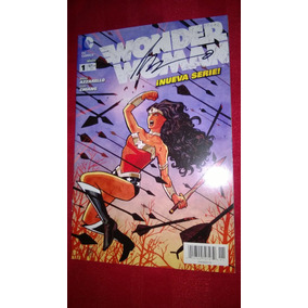 Wonder Woman #1 New 52 En Español,autografo Brian Azzarello