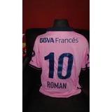 Camiseta Boca Rosa - Roman # 10