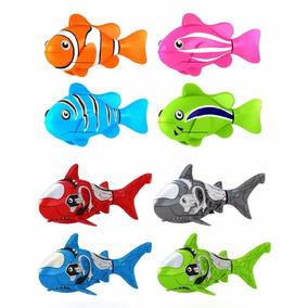 Robo Fish Peixe Robótico Que Move Na Água S/ Controle Remoto