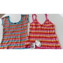 Kit Com 2 Blusas Femininas Triton,originais,excelente Preço!