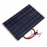 Kit Painel Solar 18v Placa Fotovotaica 20w + Controlador 10a