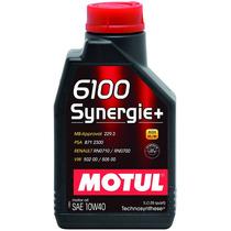 Óleo Lubrificante Motul 10w40 6100 Synergie+ Para Motores 4t