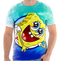 Camiseta Camisa Personalizada Bob Esponja Desenho 5