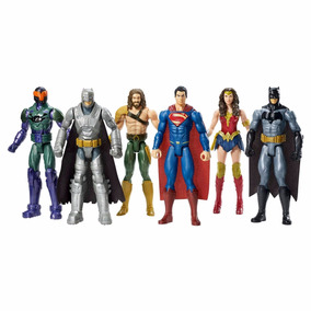 Batman Vs Superman A Origem Da Justiça - Pack Com 6 - Mattel