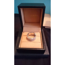 Anillo Bvlgari/bulgari Oro Blanco Diamantes