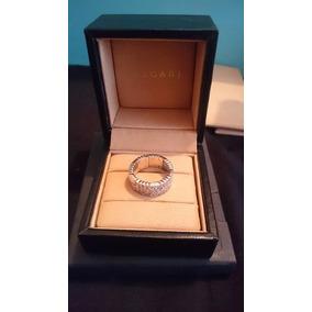 Anillo Bvlgari/bulgari Oro Blanco Diamantes