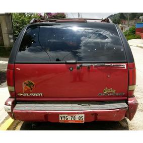 Tapa Trasera De Chevrolet Blazer 95-98 Envio Gratis